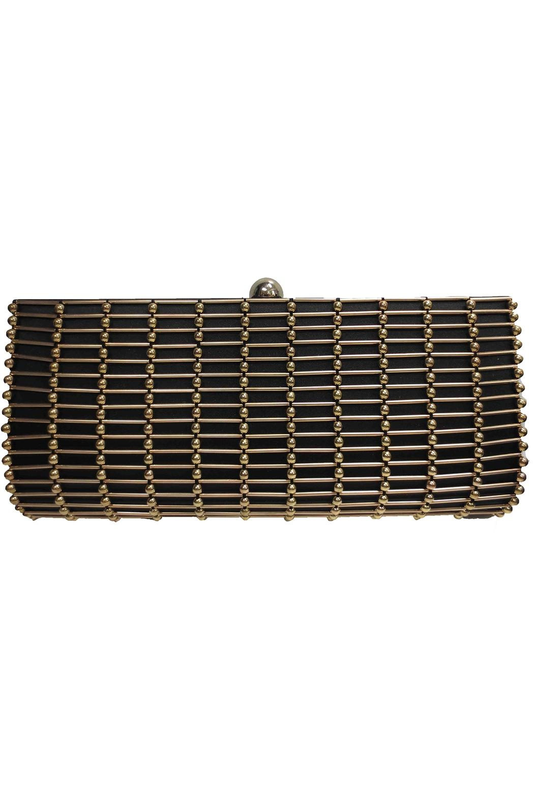Sondra Roberts Jeweled Evening Clutch - Front Cropped Image