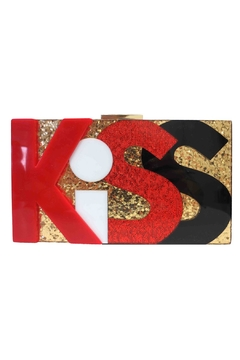 Shoptiques Product: Kiss Box Clutch