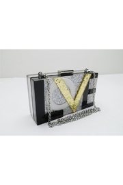 Sondra Roberts Love Box Clutch - Front cropped
