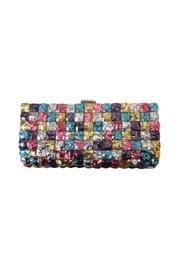 Sondra Roberts Square Jeweled Clutch - Front cropped