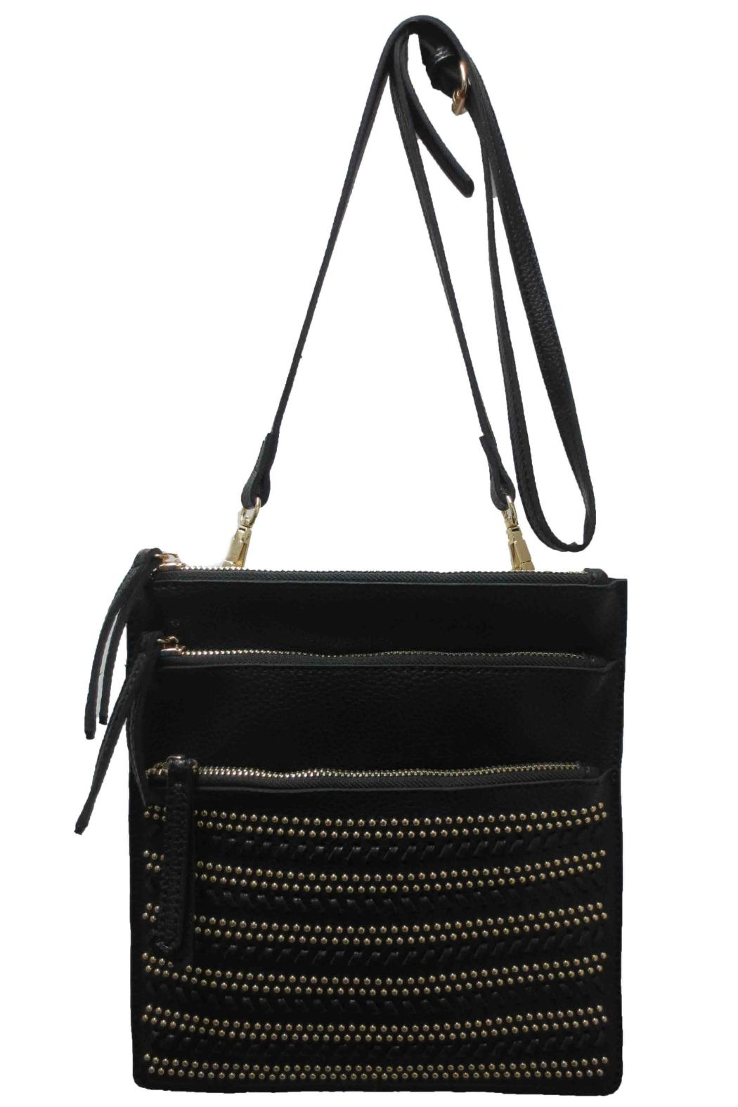 Sondra Roberts Studded Messenger Bag - Main Image