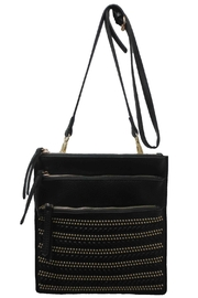 Sondra Roberts Studded Messenger Bag - Front cropped