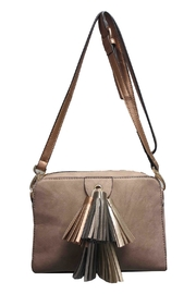 Sondra Roberts Tasseled Crossbody - Product Mini Image