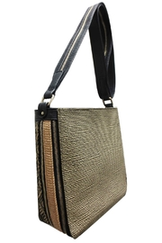 Sondra Roberts Zipper Detail Tote - Product Mini Image