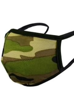 Song and Sol Reversible Camo Face Mask - Product List Image