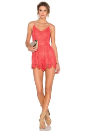 Lovers + Friends Songbird Romper - Product Mini Image