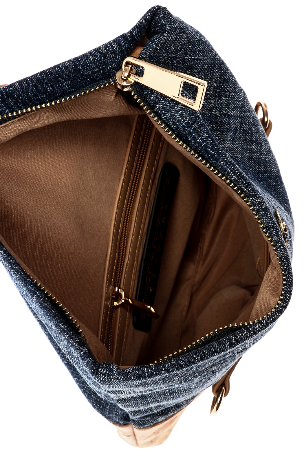 Sonia Roberts Chic Denim Clutch - Front Full Image