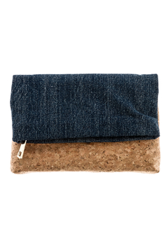 Sonia Roberts Chic Denim Clutch - Product List Image