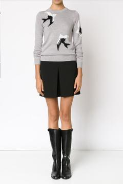 Sonia by Sonia Rykiel Bird Intarsia Sweater - Product List Image