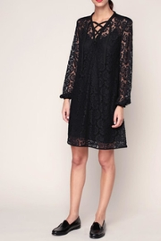 Sonia by Sonia Rykiel Black Lace Dress - Front cropped