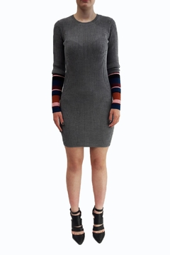 Shoptiques Product: Sweater Grey Dress