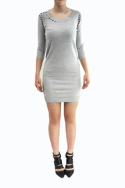 Sonia by Sonia Rykiel Grey Sweater Dress - Product Mini Image
