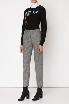Sonia by Sonia Rykiel Insignia Jacquard Sweater - Product List Image