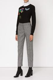 Sonia by Sonia Rykiel Insignia Jacquard Sweater - Product Mini Image