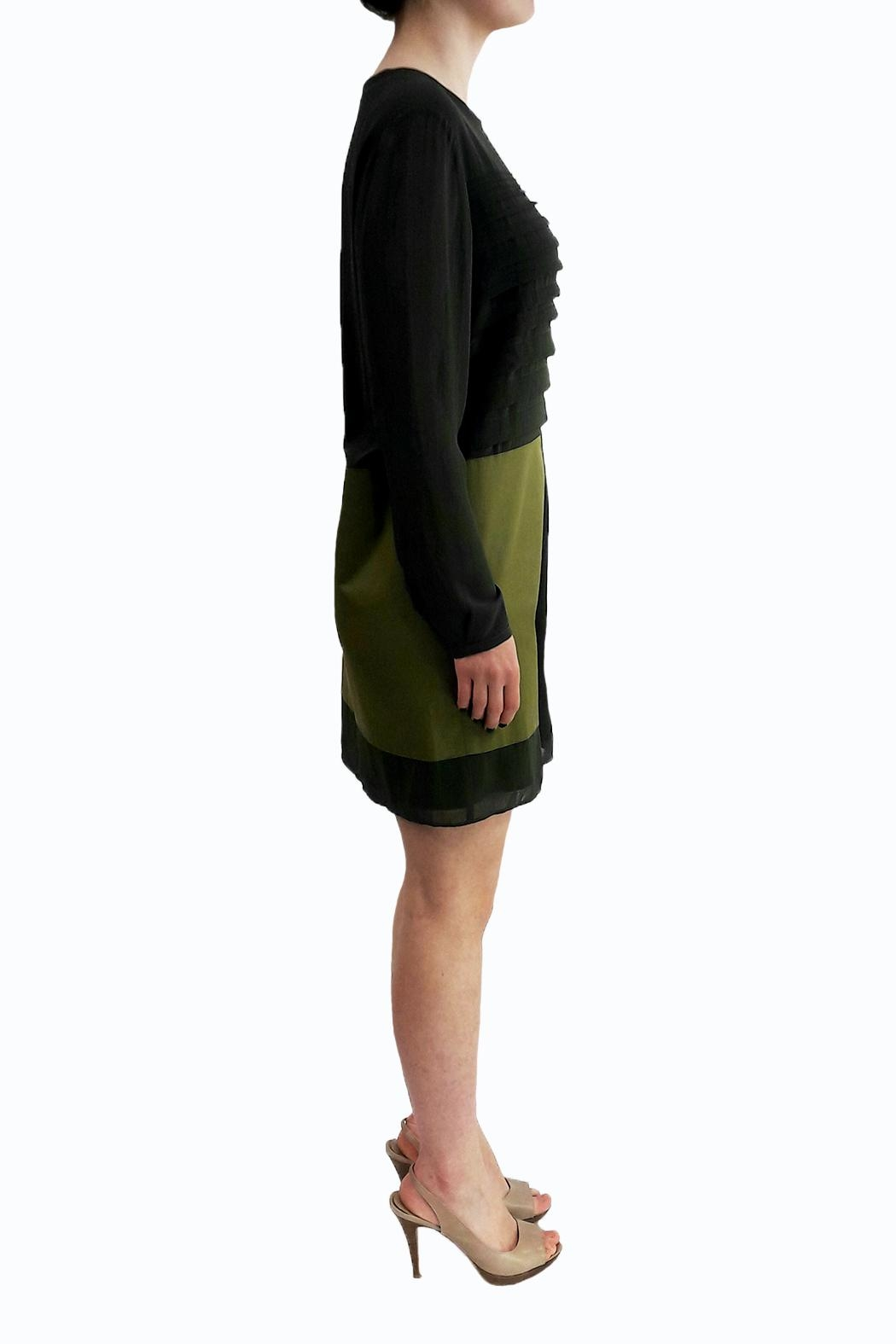 Sonia by Sonia Rykiel Khaki Dress - Front Full Image
