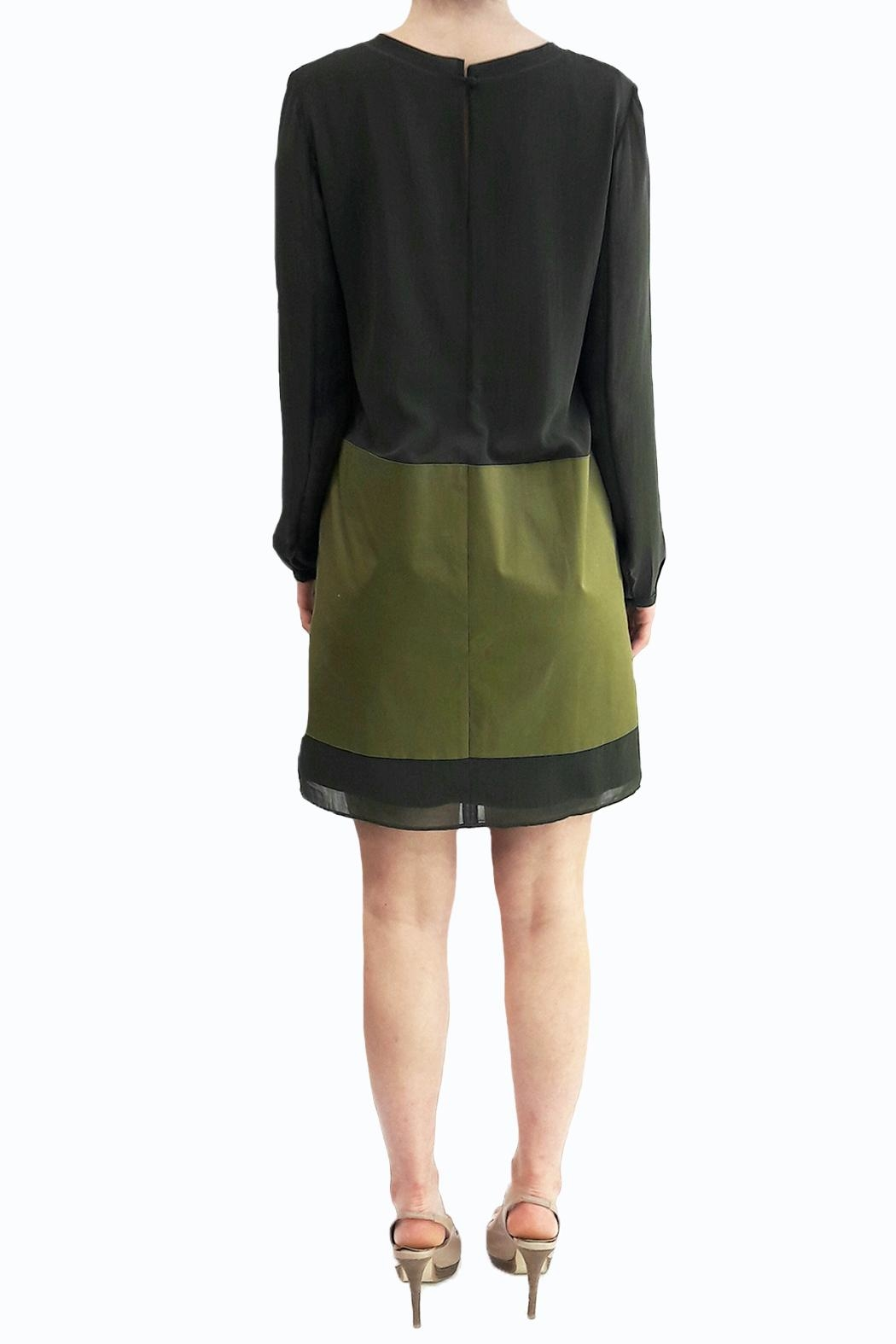 Sonia by Sonia Rykiel Khaki Dress - Side Cropped Image