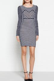 Sonia by Sonia Rykiel Knitted Stipe Dress - Product Mini Image