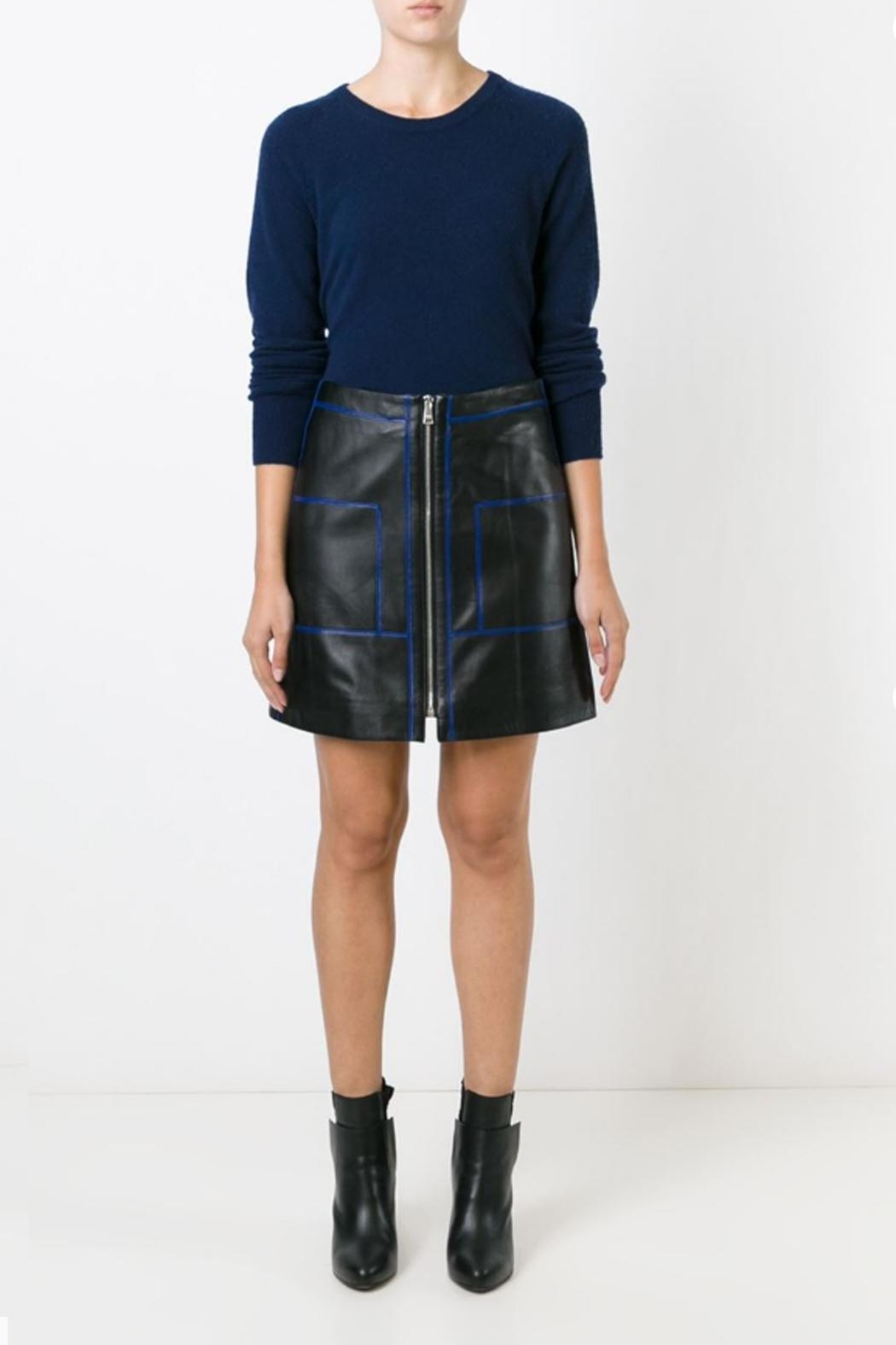 Sonia by Sonia Rykiel Soft Leather Skirt - Main Image