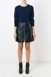 Sonia by Sonia Rykiel Soft Leather Skirt - Front cropped