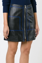 Sonia by Sonia Rykiel Soft Leather Skirt - Front full body