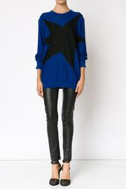 Sonia by Sonia Rykiel Star Patch Sweater - Product Mini Image