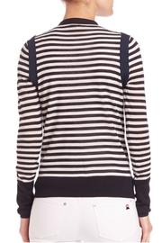 Sonia by Sonia Rykiel Striped Navy Cardigan - Side cropped