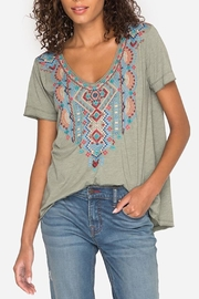 Johnny Was Sonoma Tee - Front cropped