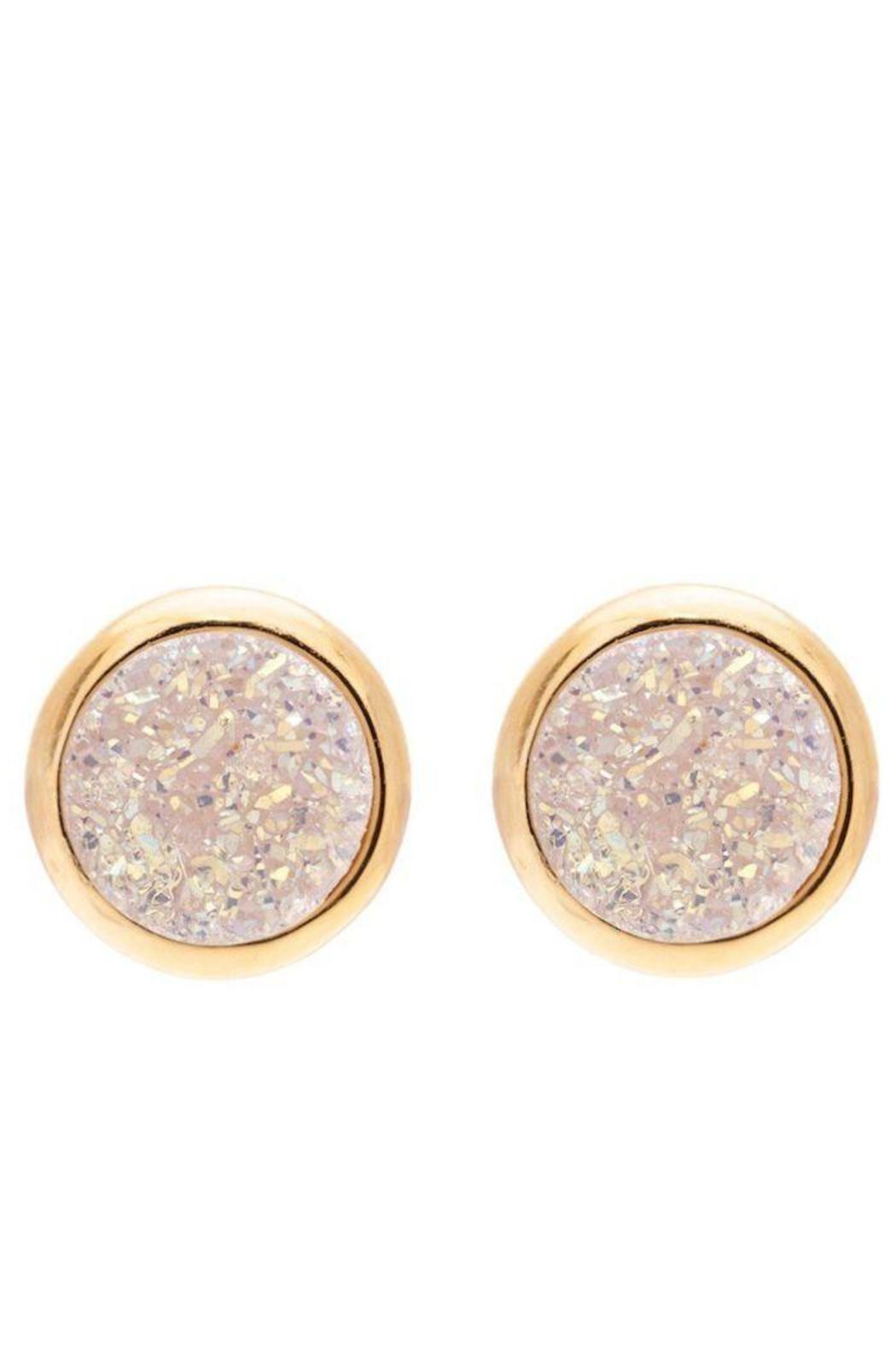 Sonya Renee Lil' Druzy Studs - Front Cropped Image