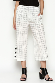 Sophia Crop Button Pant - Product Mini Image