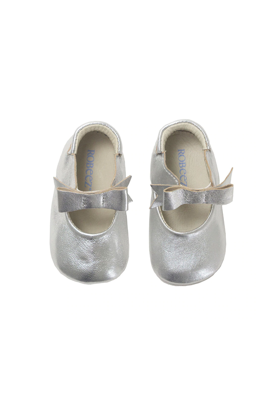 Robeez Sophia Silver First Kicks - Front Full Image