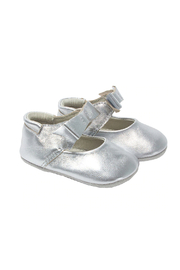 Robeez Sophia Silver First Kicks - Front cropped