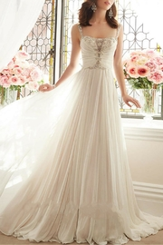 Sophia Tolli Chiffon Bridal Gown - Front cropped