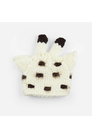The Blueberry Hill Sophie Giraffe Knit Hat - Front cropped