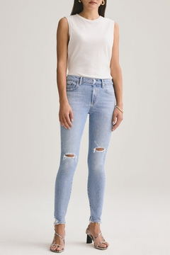 AGOLDE Sophie Mid Rise Skinny Ankle Jean - Product List Image
