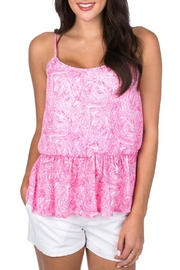 Lauren James Sophie Peplum Top - Product Mini Image