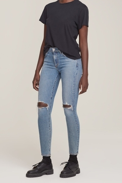 AGOLDE Sophie Skinny Jean in Coastal - Product List Image