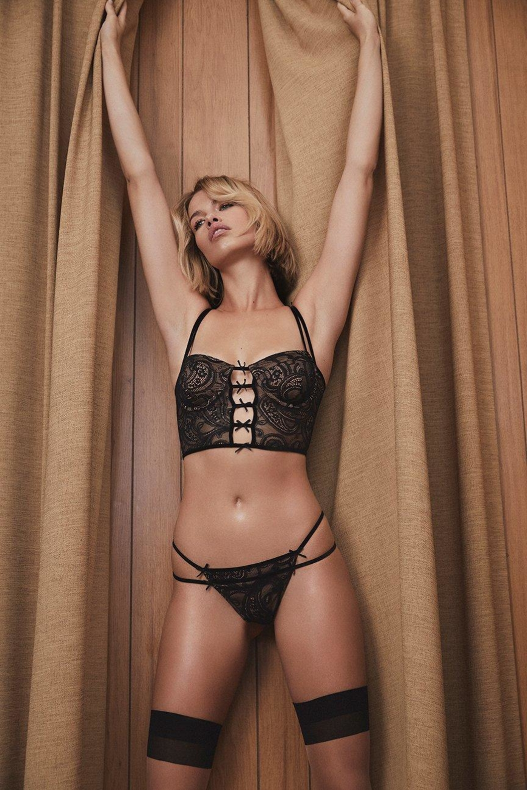 FOR LOVE & LEMONS Sophie Strappy Thong - Main Image