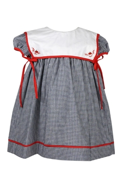 Sophie & Lucas Apple-Embroidered Float Dress - Product List Image