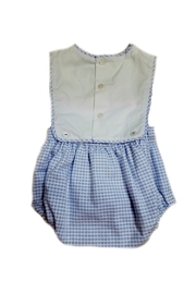Sophie & Lucas Baby-Boy Button-On Bubble-Suit - Front full body