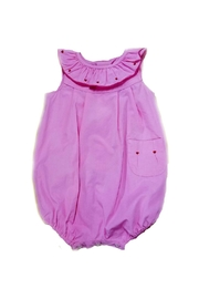Sophie & Lucas Baby-Girl Heart-Embroidery Bubble - Front cropped