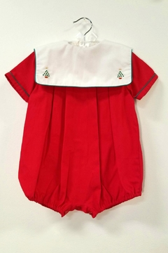 Sophie & Lucas Christmas Tree Bubble Romper - Product List Image