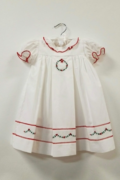 Sophie & Lucas Christmas Wreath Dress - Product List Image