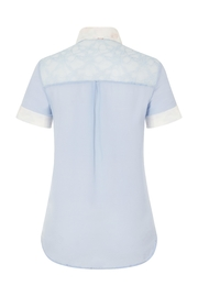 Sophie Cameron Davies Classic Silk Shirt - Back cropped