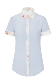 Sophie Cameron Davies Classic Silk Shirt - Front full body