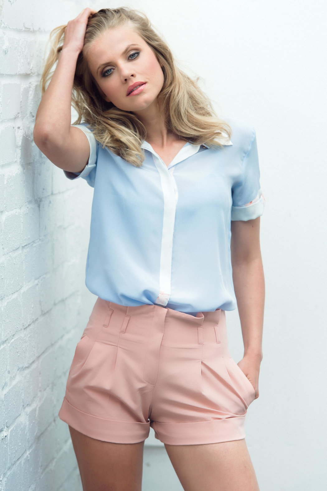 Sophie Cameron Davies Classic Silk Shirt - Front Cropped Image