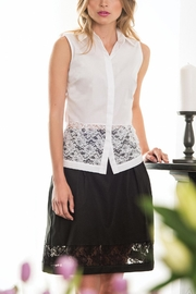 Sophie Cameron Davies Cotton A-Line Skirt - Product Mini Image