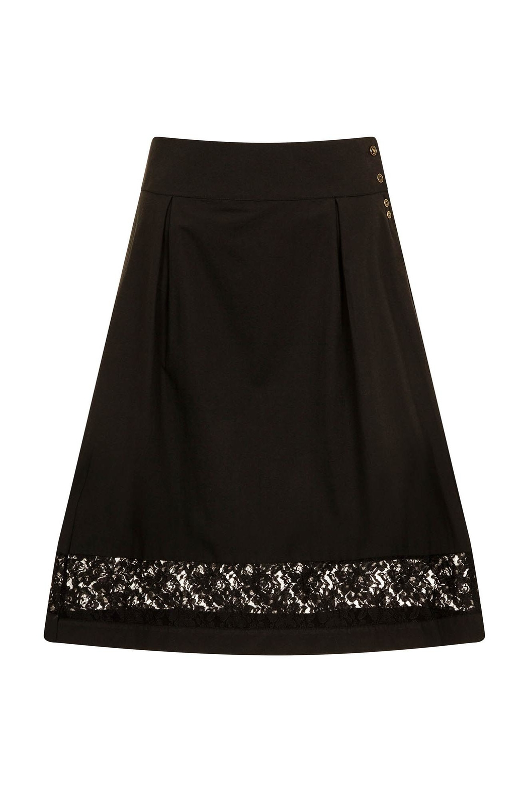 Sophie Cameron Davies Cotton A-Line Skirt - Front Full Image