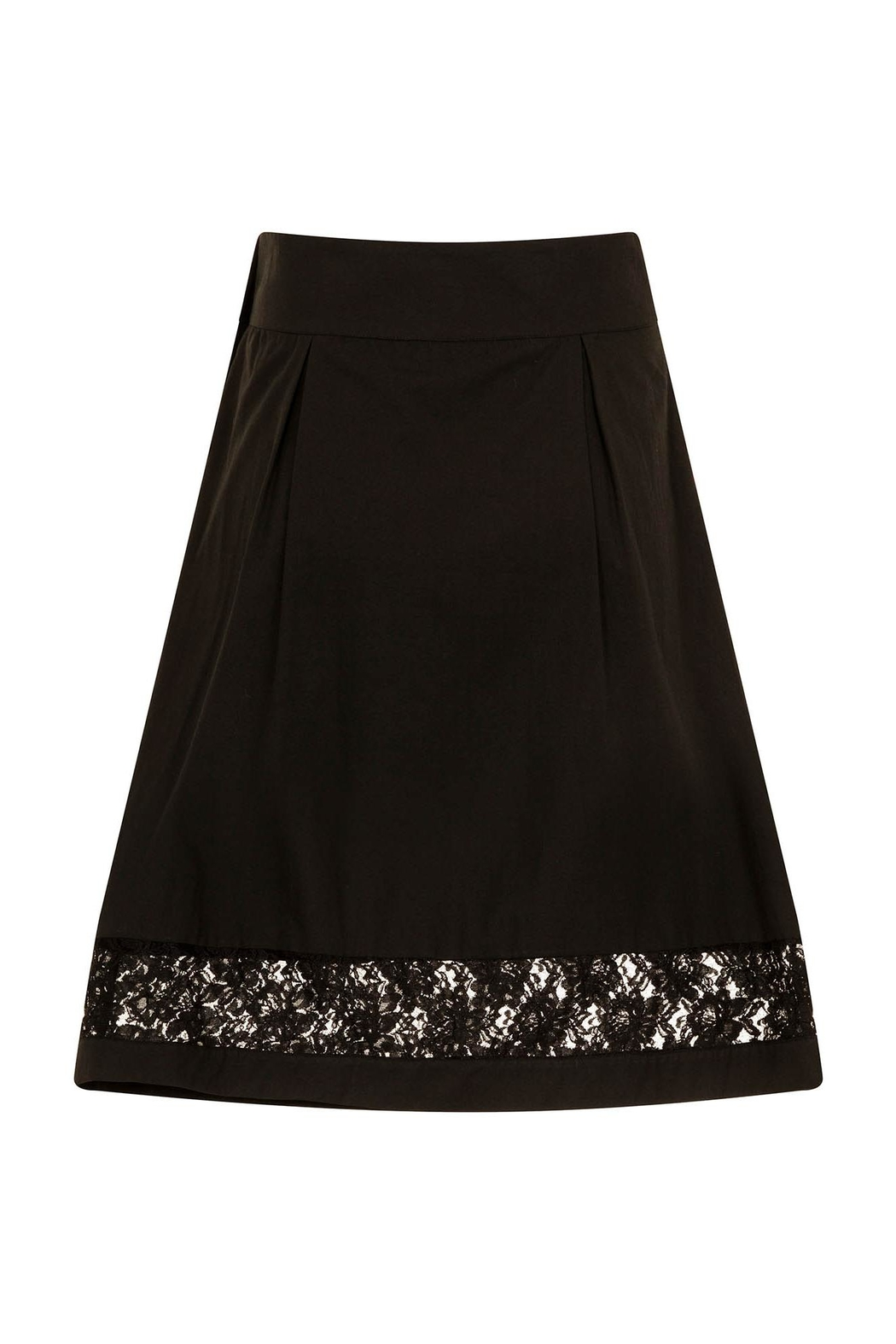 Sophie Cameron Davies Cotton A-Line Skirt - Side Cropped Image