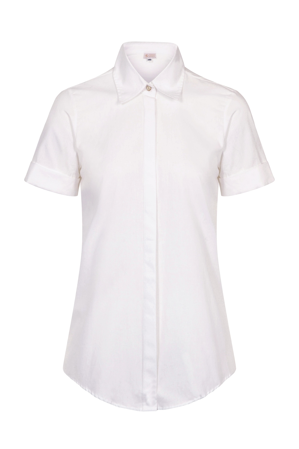 Sophie Cameron Davies Cotton Classic Shirt - Front Full Image