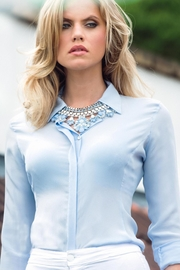 Sophie Cameron Davies Fitted Silk Shirt - Product Mini Image